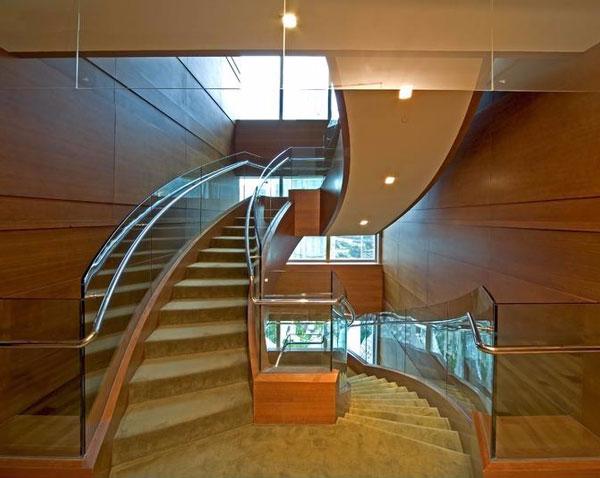 弧形楼梯扶手1