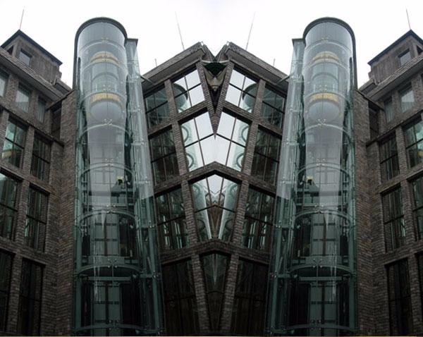 弧形观光梯图片2